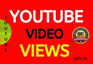 High Retention Video Views Non-drop Lifetime Guarantee