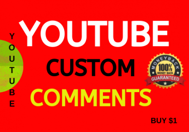 Get Fast Real Video Promotion Custom Comments
