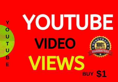 Super Fast Video Views Non-drop Lifetime Guarantee