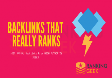 Backlinks that Really RANK! - Working In Every Niche And a Main SEO Factor!