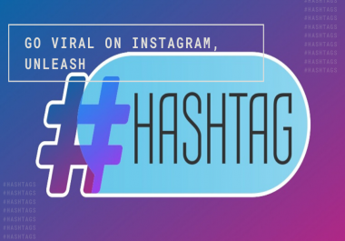 Get Viral On Instagram Professional High Engagements Hashtags Researches