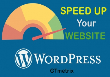 I will speedup wordpress website and improve gtmetrix scores