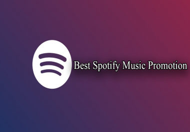 Cheap Spootify Music Promotion
