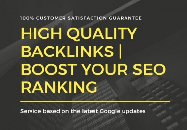 50 Backlinks From Do follow High Quality DA-70+ Domains | Off page SEO Service For Ranking