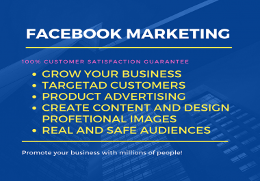 I will setup manage and promote your Facebook Business Pages