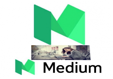 Medium profile and article promotion