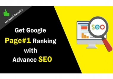 Land Up To TOP 5 on GOOGLE Authority DR 50-99 Backlinks