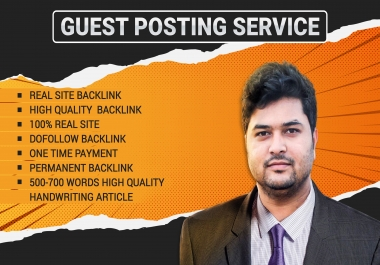 PREMIUM GUEST POSTING SERVICE- EDITORIAL LINK FROM REAL WEBSITE