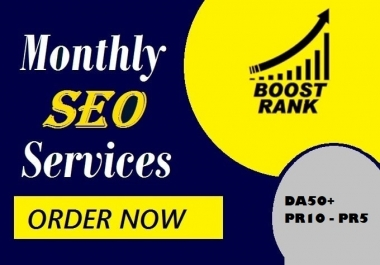 elevate your ranking, monthly SEO services