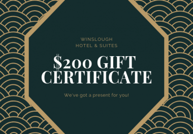 design gift voucher or gift certificate
