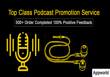 I can boost your podcast ranking by organic way