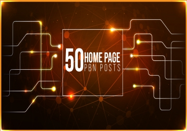 Make Manually 50 PBN Posts Dofollow Backlinks Upto DA50