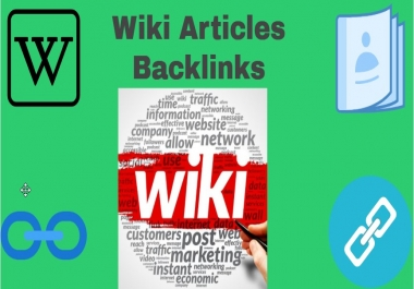 100 Wiki Articles Back links. (contextual Back links)
