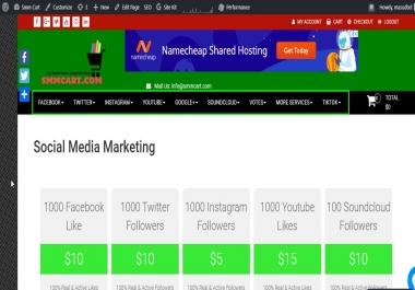 1000 API SMM Website Email List- Application Programming Interface Social Media Marketing