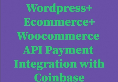 Bitcoin Payment Integration for your wordpress/woocommerce/ecommerce store or website