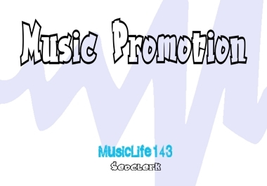 Music Promotion Mix with Real Organic Method