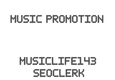 Music Promote To Your Mixtape Volume Two