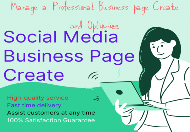 Very Important Manage a Professional Business page Create and Optimize