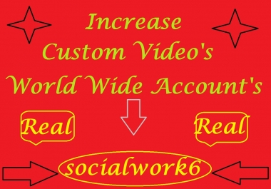 Increase Videos Promotion Via World Wide User