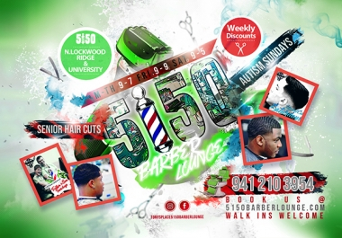 Cool Flyer Design Package - 24 hour delivery