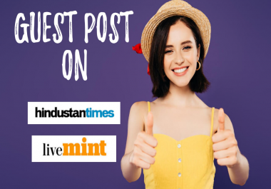 Get published on Hindustan Times (Dofollow Link)
