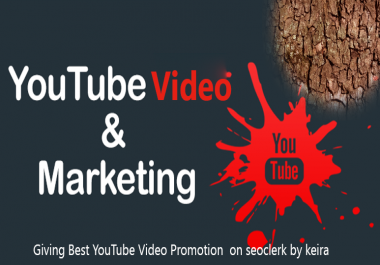 YouTube Video Promotion & Marketing