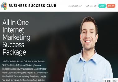All In One Internet Marketing Success Package-50+ Tools & 1000+ Courses