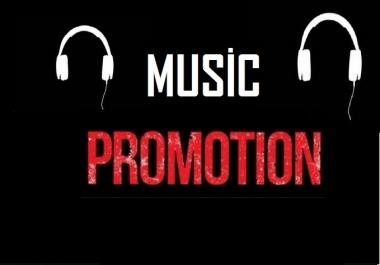 High Quality Music Promotion Playlist Album Or Artist