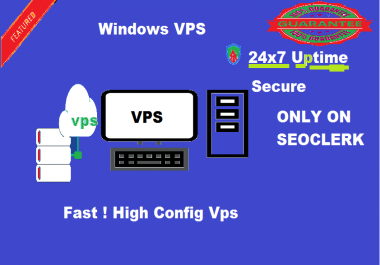 Provide Windows RDP VPS 4 GB RAM