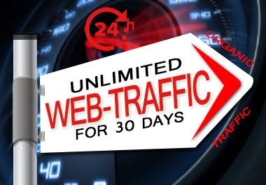 Unlimited Targeted Organic Human Traffic by Google YouTube Twitter or Many More to Your Website/Blog