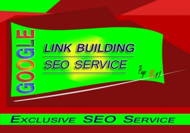 Google Rank on 1st Page by Exclusive Link Pyramid Complete SEO Backlinks in Unique Domain