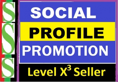 Instant Social Profile Promotion High Quality