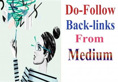 10+Powerful Do-Follow Backlinks From Medium Gust PST Quality
