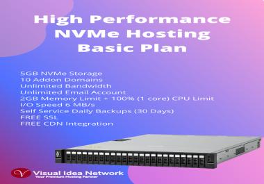 Austraria NVMe Hosting Basic Plan