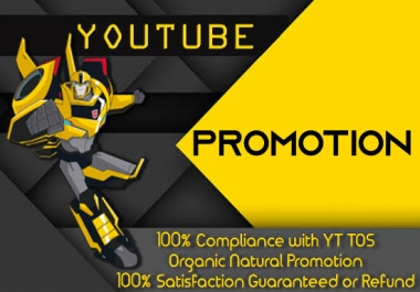 Youtube Marketing Video Promotion Real Via User