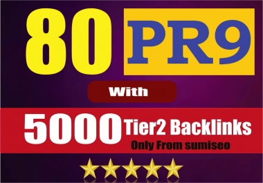 [5080+ Backlinks] Create 80 PR9 Backlinks (DA-100) with 5000 Links Easy Link Juice & Faster Index