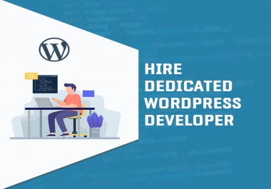 Hire me as your monthly wordpress developer