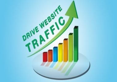 UNLIMITED High Quality Traffic for 6 months for your Website