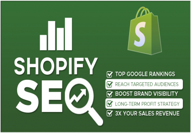 Shopify SEO Service to Rank Your Online Store Higher on Google