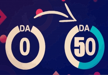 Increase Moz Domain authority DA 50 plus in 7 days Guaranteed