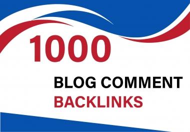 Do 1000 Blog comments Backlinks