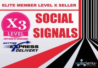 4500 PR9 Pinterest Permanent Social Signals Share Bookmarks Important Google Ranking Factors