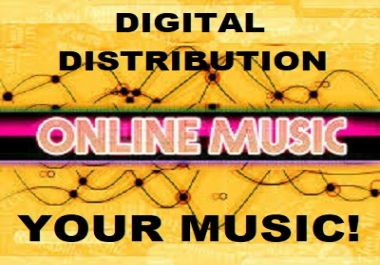 Distribute your music on 150 Music Platforms Apple, Amazon Music, Google Play, Tidal & More
