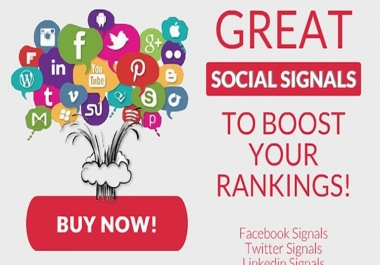3,000 Manually Created Social Signals Rank your Website in Google
