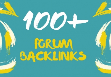 100+ High Authority Forum Backlinks Boost your ranking
