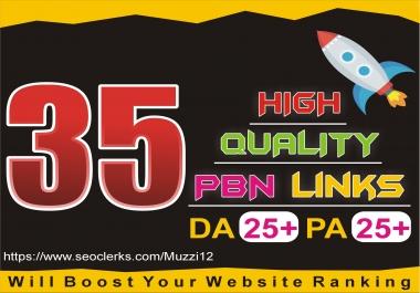 create 35 PBN on High Da PA Links