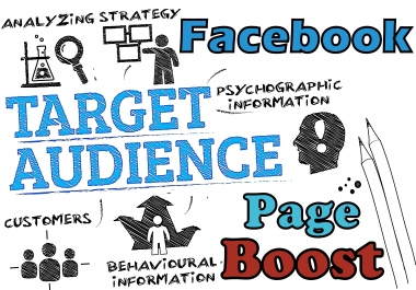 Organic Promotion for your FACEBOOK Page Guaranteed