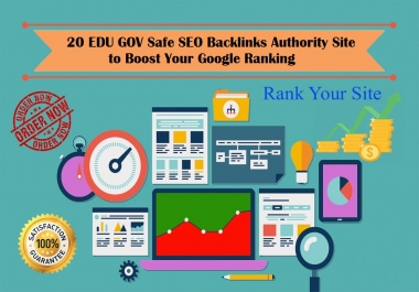 Build 20 Pr9 - 80+ DA EDU GOV High Quality SEO Domain Authority Permanent Backlinks - Google Ranking