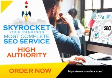 Build 20 Pr9 - 80 to 95+ DA High Quality SEO Domain Authority Permanent Backlinks - Google Ranking