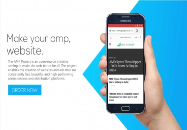 Setup Wordpress for Google AMP with Customization